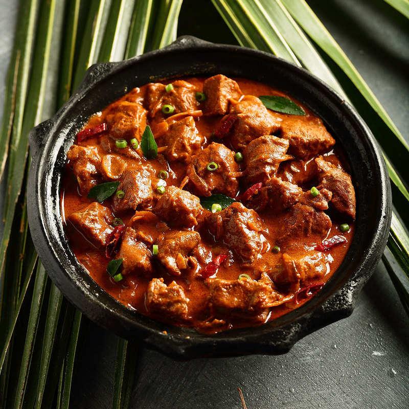 Hot garlic Gravy chicken 8pcs