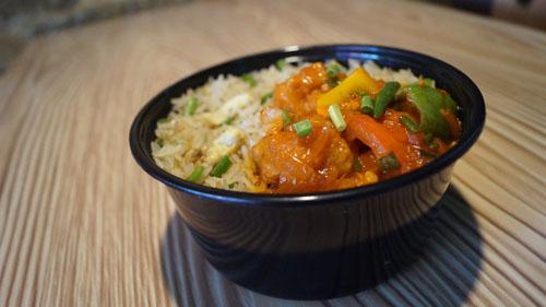 Pocket Meal (Egg Fried Rice 3 pc Chilli Chicken Gravy)