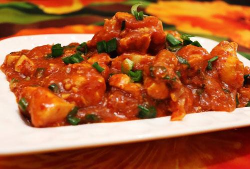 Hot garlic chicken 4pcs
